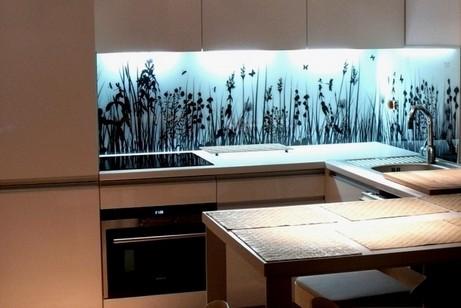 Panel Szklany Szkło Dekoracyjne Do Kuchni Szafy Szafek Kuchennych Szkło Hartowane Esg 8mm Z Grafiką Dł 32 Mb